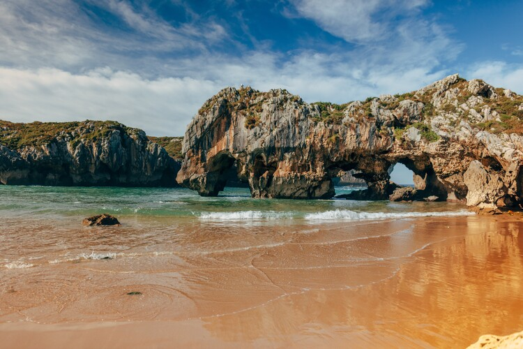Art Photography Details of the Cantabrian coast