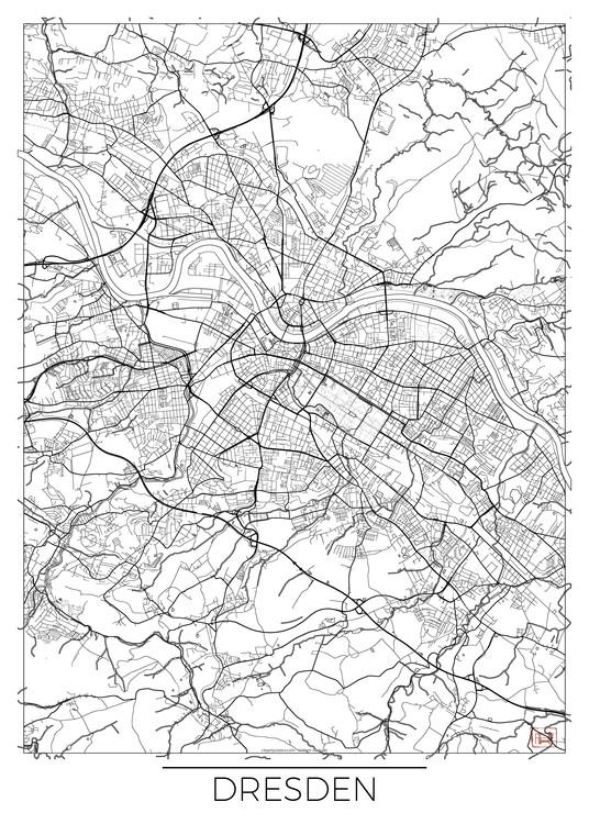 Map Dresden