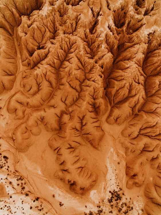 Art Photography Eroded desert in spain