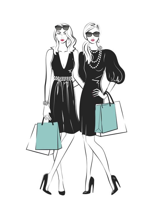 Illustration Fashion friends