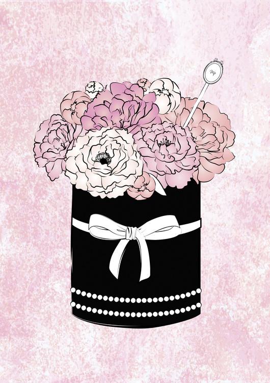 Illustration Flower Box