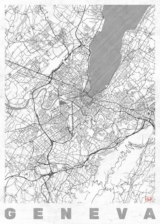 Map Geneva