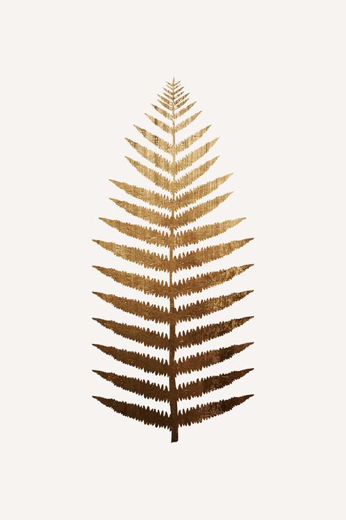 Illustration Golden leaf No.7