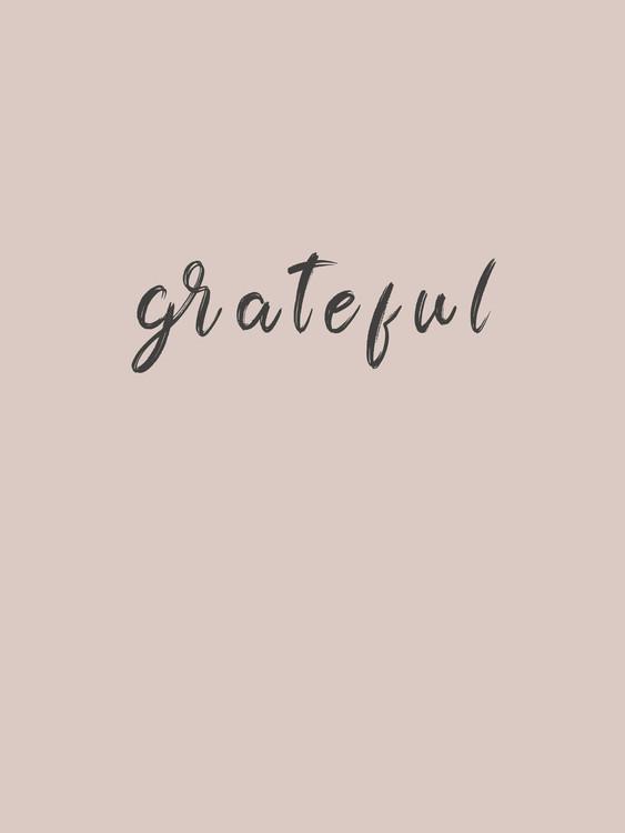 Illustration grateful