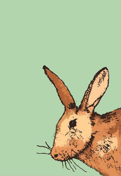 Fine Art Print Hare, 2014