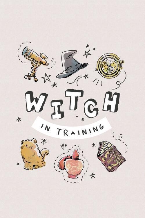 Poster Harry Potter - Bruxa em treinamento