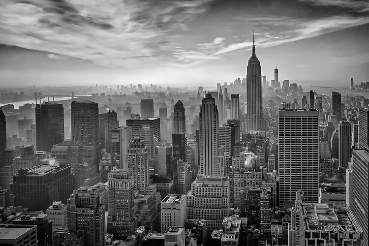 Art Photography Hazy Gotham
