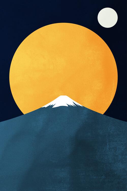 Illustration Himalaya At Night