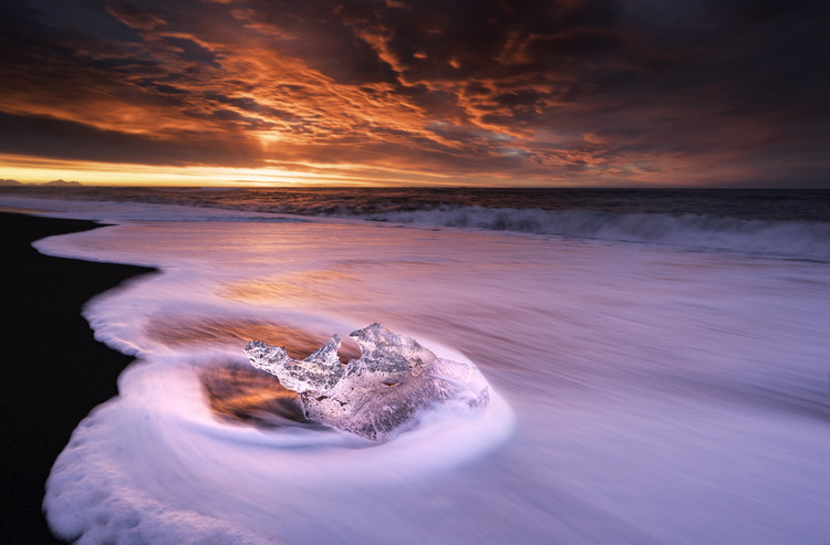 Art Photography Ice And Fire