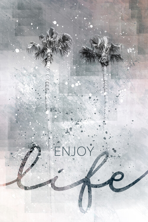Art Photography Idyllic palm trees | enjoy life