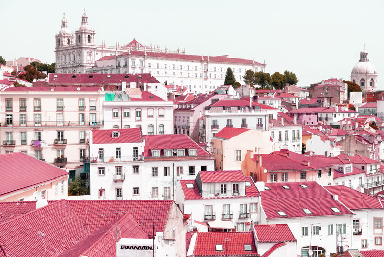 Art Photography Incredible Lisbon Pink