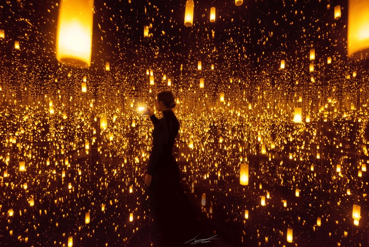 Art Photography Infinity Mirrors