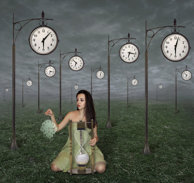 Art Photography Infinity of time...