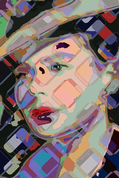 Fine Art Print Ingrid Bergman