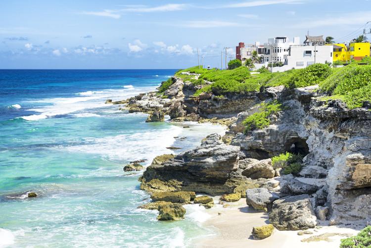 Art Photography Isla Mujeres Coastline