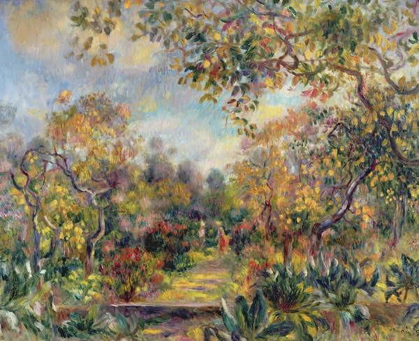 Fine Art Print Landscape at Beaulieu, c.1893