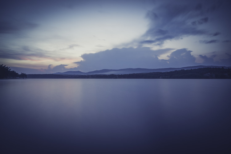 Art Photography Landscapes of a big lake