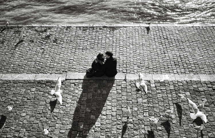 Art Photography Le baiser
