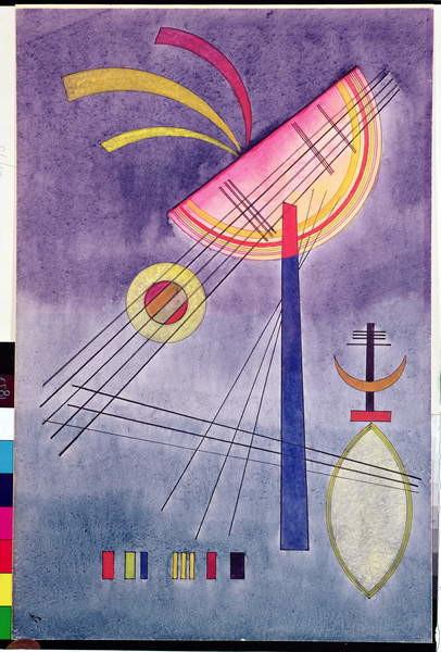 Fine Art Print Leaning Semicircle, 1928