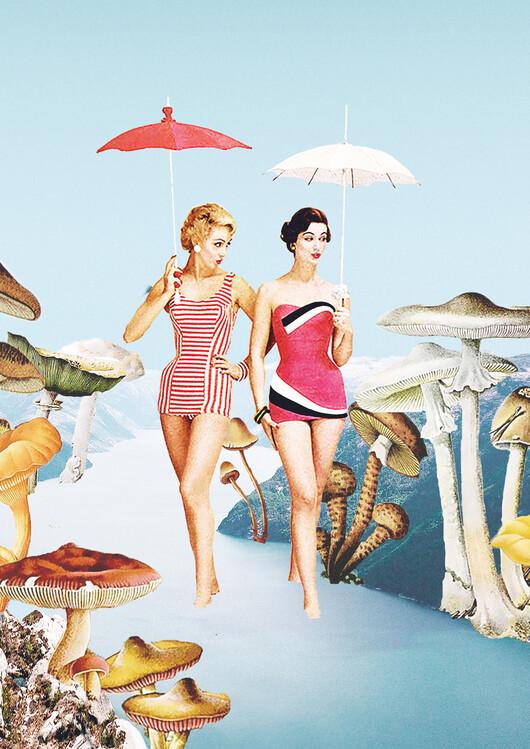 Illustration Let's pretend we're mushrooms