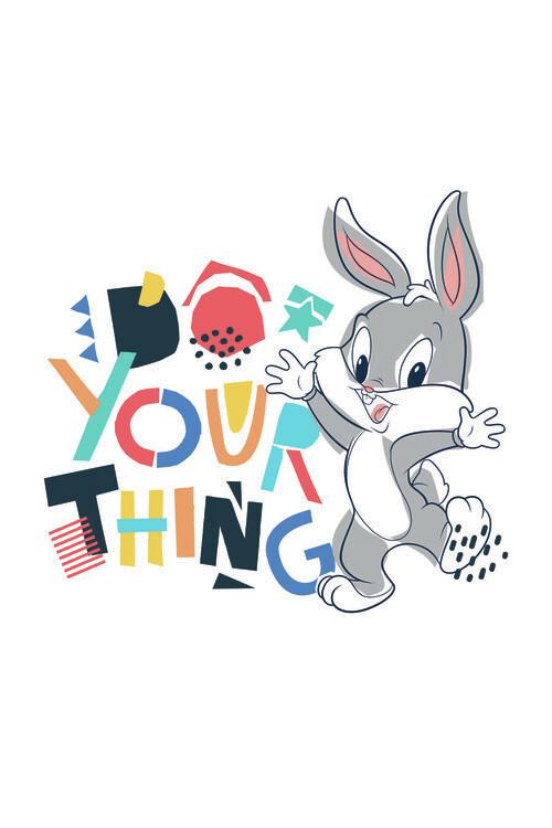 Art Poster Looney Tunes - Little bunny