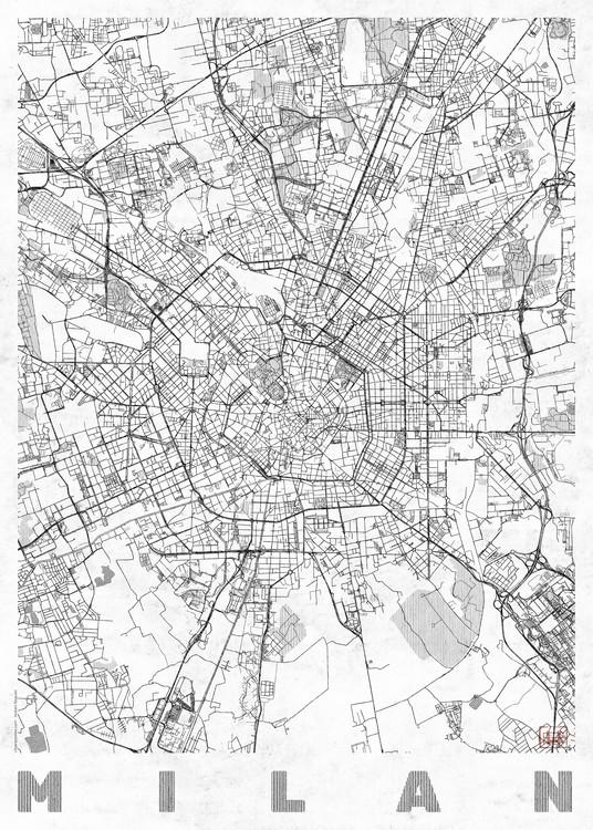Map Milan