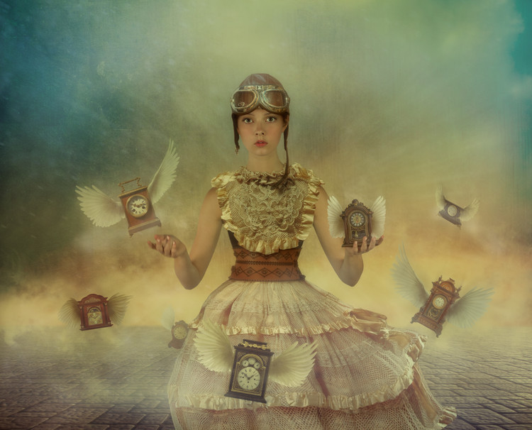 Art Photography Mistress of time