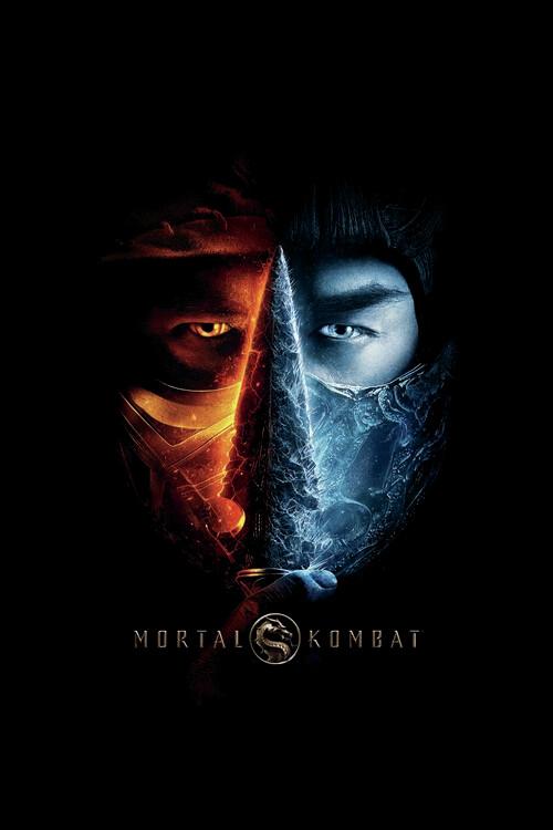 Art Poster Mortal Kombat - Two faces