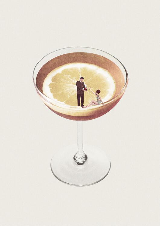Illustration My drink needs a drink