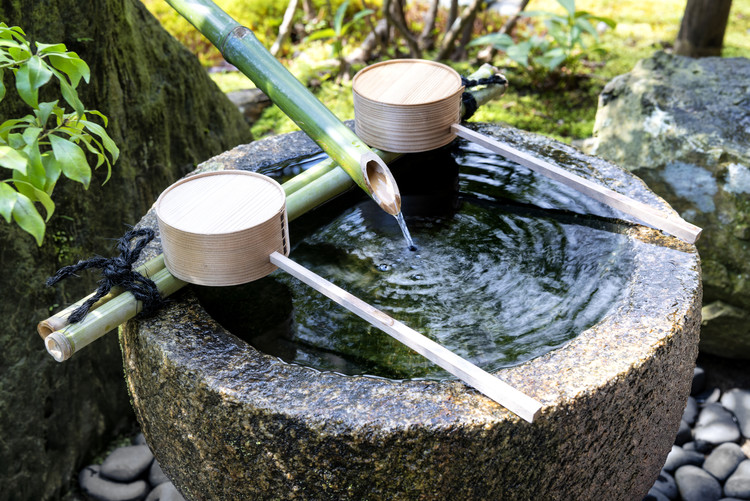 Art Photography Natural Japanese Fountain