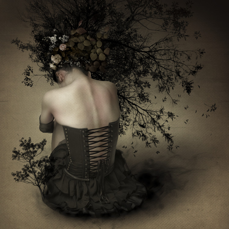 Art Photography Night scented girl