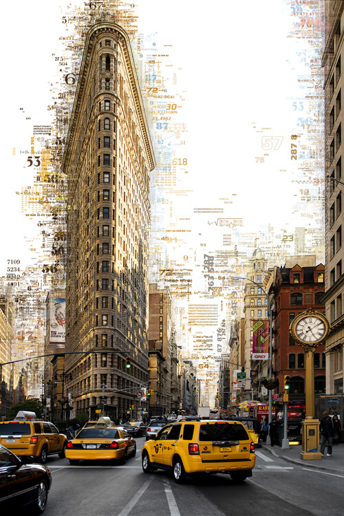Art Photography Numbers Collection - Manhattan Flatiron