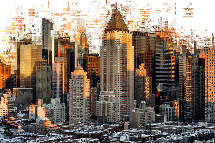 Art Photography Numbers Collection - New York Buildings