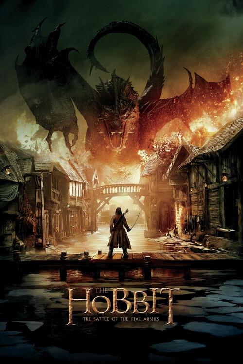 Poster O Hobbit - Smaug