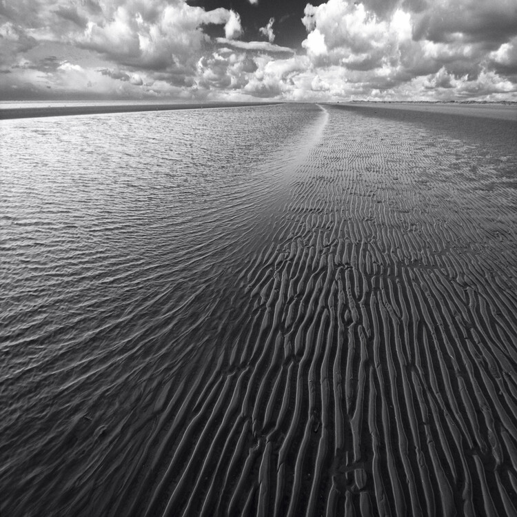 Art Photography Ocean and clouds