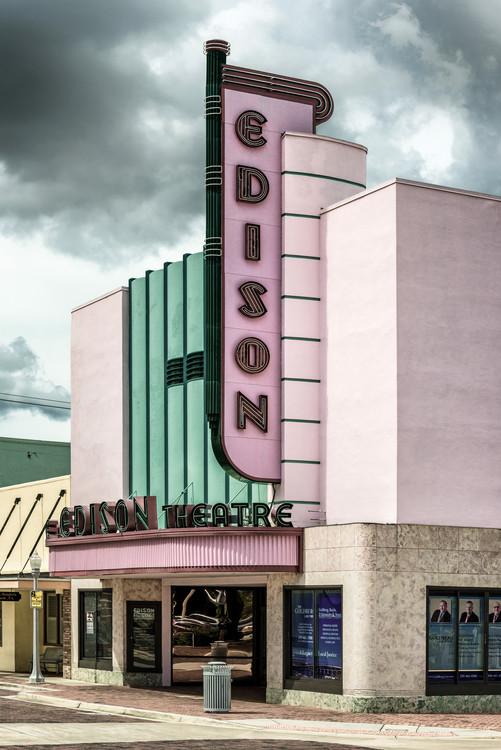 Taide valokuvaus Old American Theater