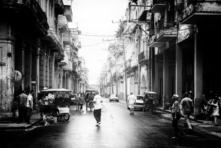 Art Photography Old Havana Street