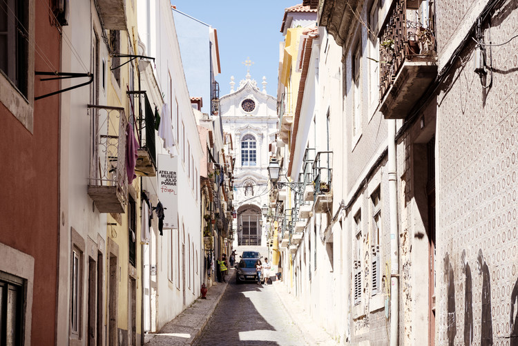 Art Photography Old Lisbon Street