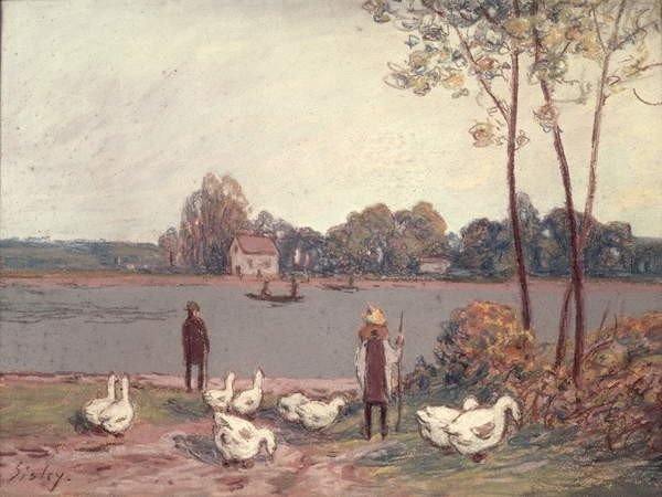 Fine Art Print On the Banks of the Loing