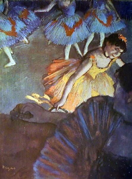 Fine Art Print Painting titled 'A Ballet Seen from an Opera Box'
