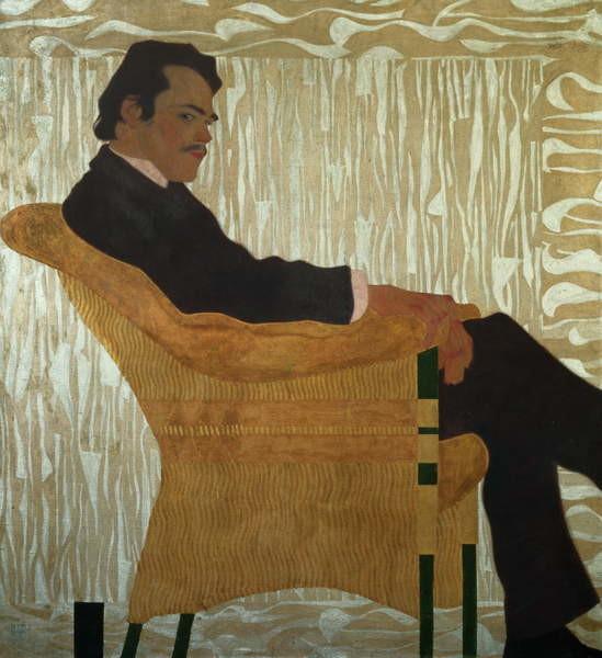Fine Art Print Portrait of Hans Massmann, 1909