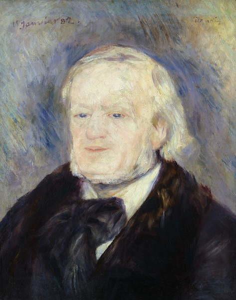 Fine Art Print Portrait of Richard Wagner (1813-83) 1882
