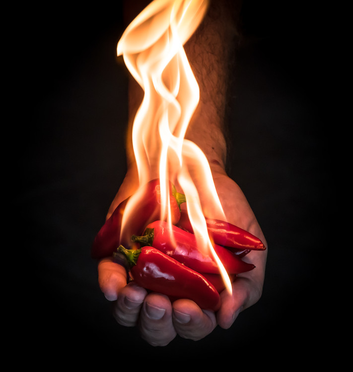Art Photography Red Hot Chili Peppers