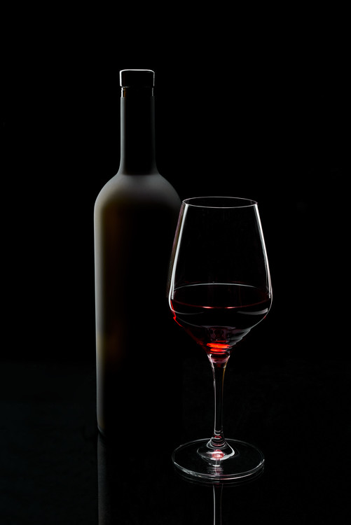 Art Photography Red wine