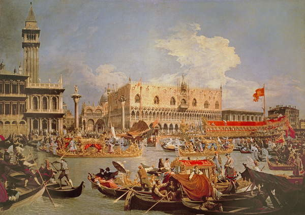 Fine Art Print Return of the Bucintoro on Ascension Day