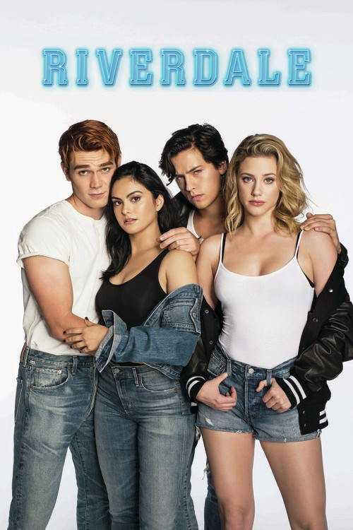 Poster Riverdale - Archie, Jughead, Veronica and Betty