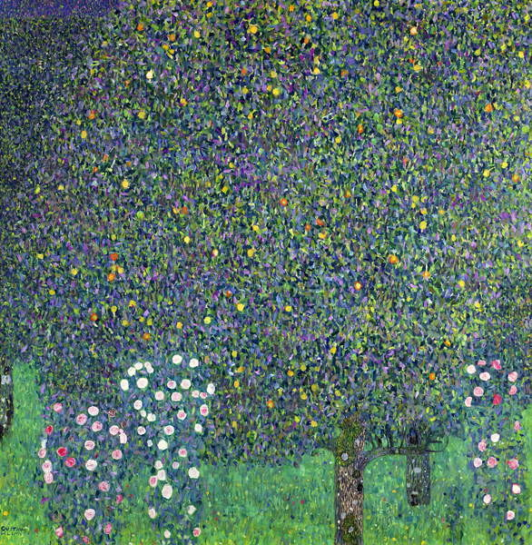 Fine Art Print Roses under the Trees, c.1905