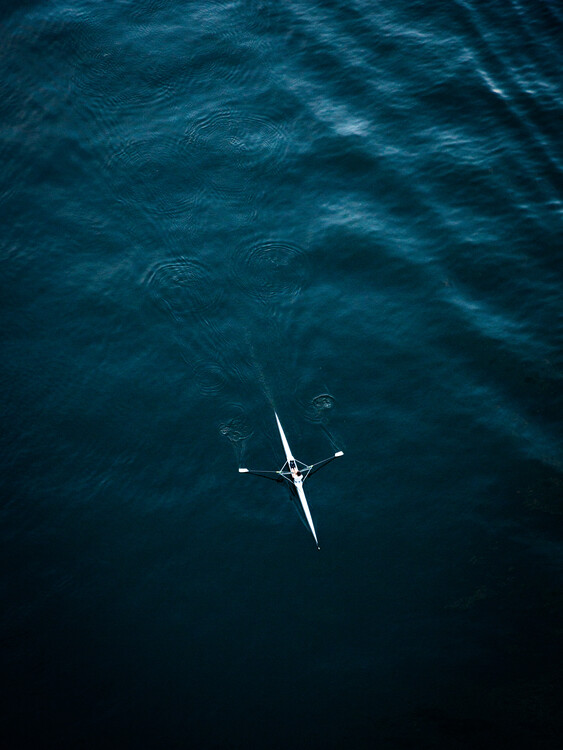 Art Photography Rowing