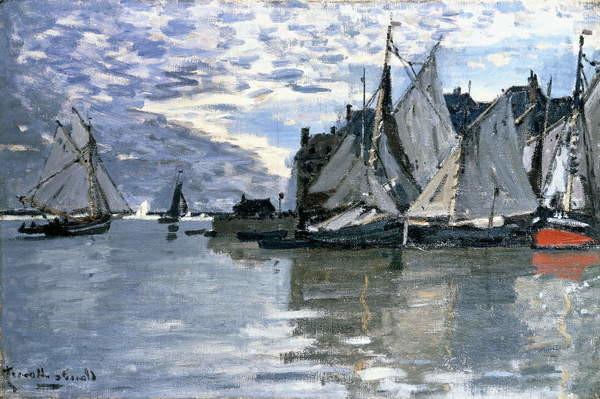 Fine Art Print Sailing Boats, c.1864-1866