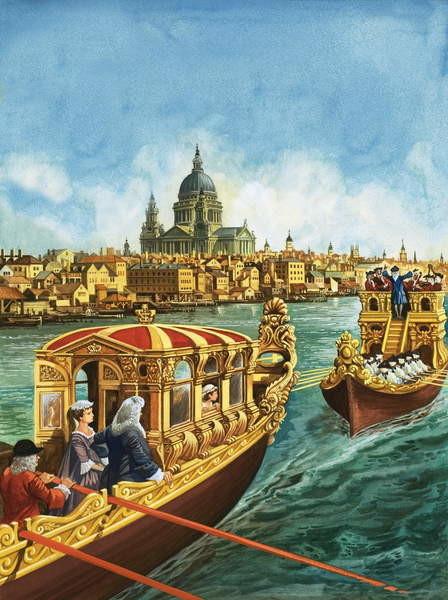 Fine Art Print Sailing to Music